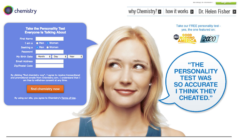 Chemistry.com Recenzja 2021