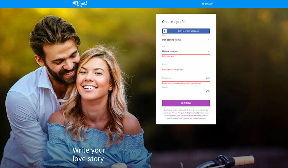 Cupid Review – Convenient and Reliable Dating Website
