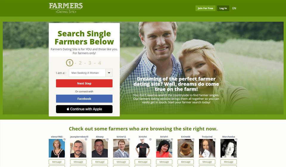 Farmers Dating Site Overzicht 2021