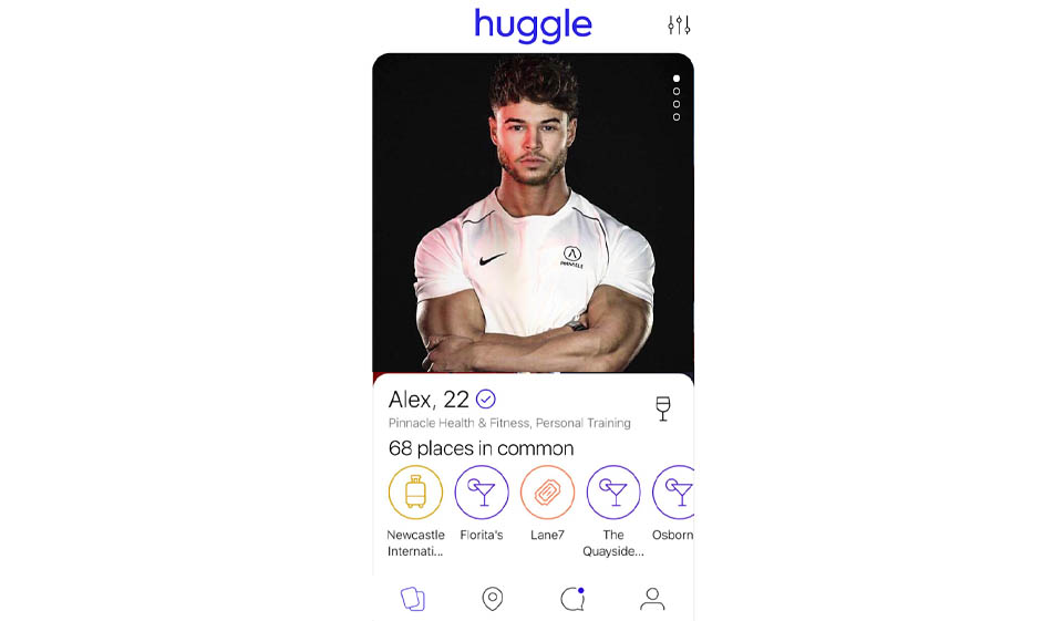 huggle dating site