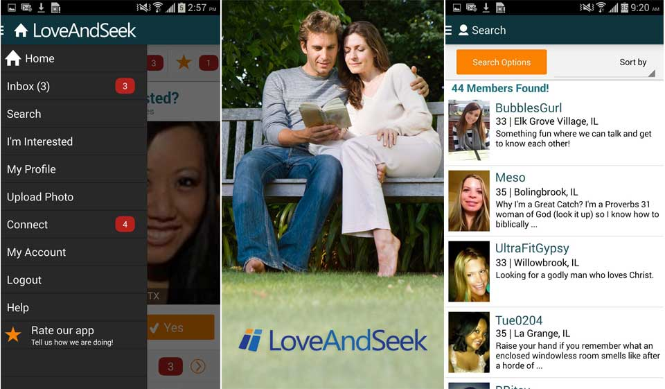 LoveAndSeek Review – Connect With Single Christians for Committed Relationship