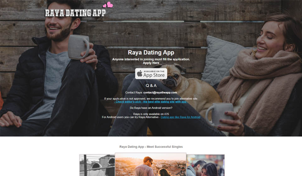 Raya Review: A Platform For Dating Stars