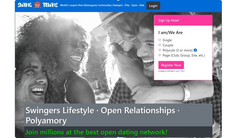 SwingTowns Review – Find Your Polyamour Love on The Dating Website