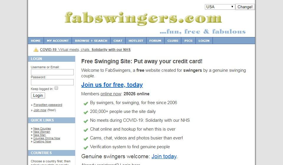FabSwingers İnceleme 2021