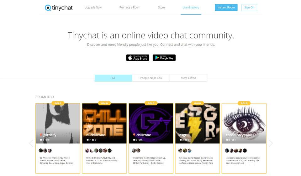 TinyChat Recenzja 2021
