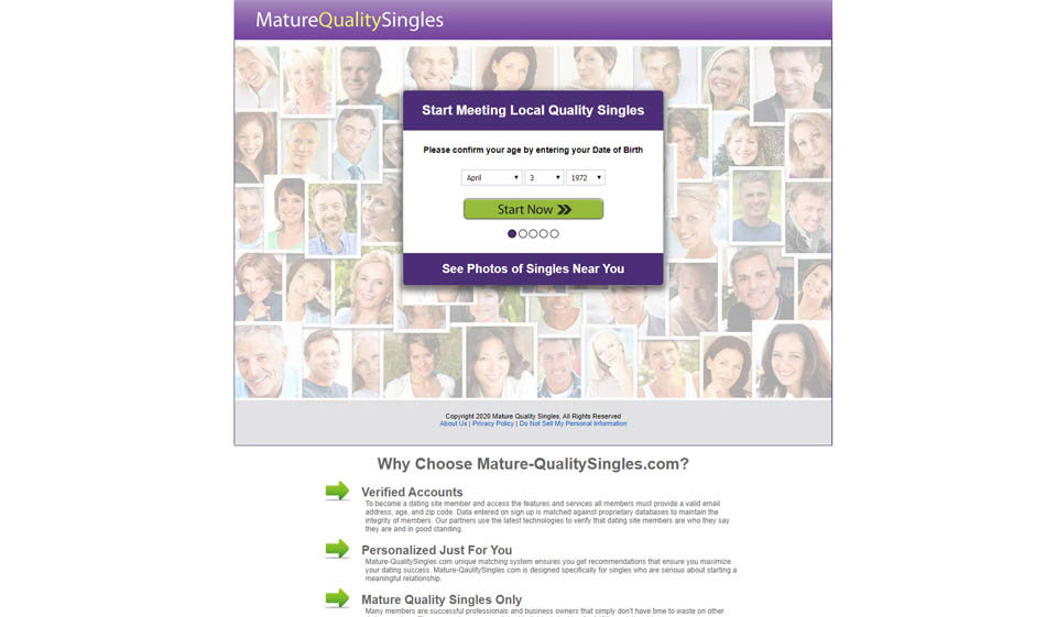Mature Quality Singles Inceleme 2021