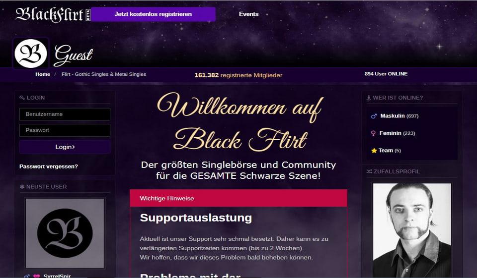 Black Flirt im Test 2021: Kosten, Users Erfahrungen