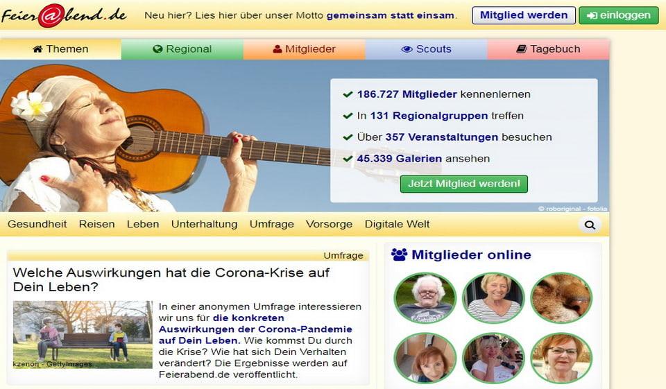 Feierabend.de im Test 2021: Kosten, Users Erfahrungen