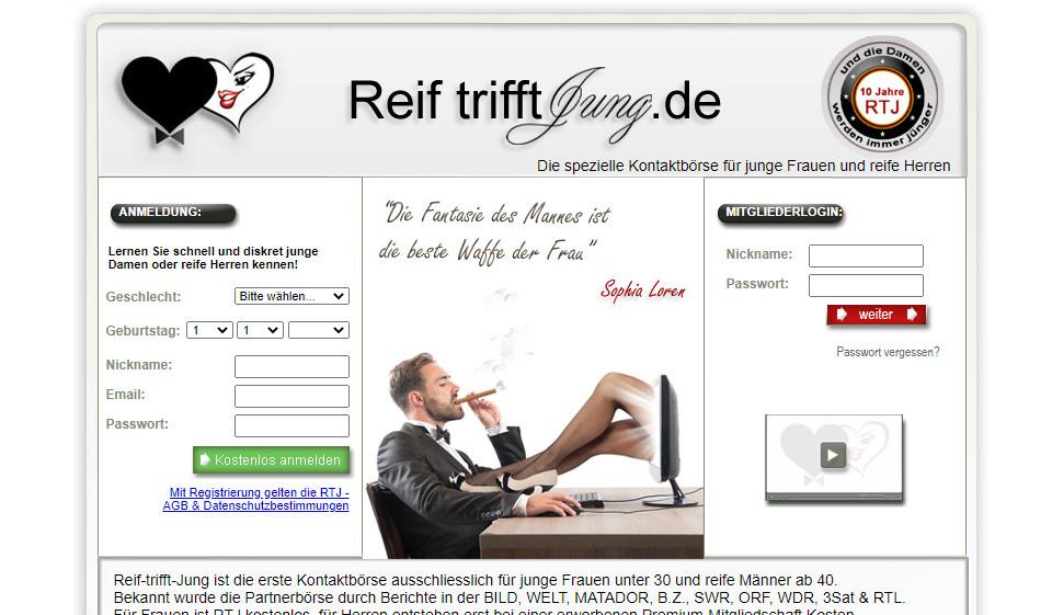 Reif sucht Jung im Test 2021: Kosten, Users Erfahrungen