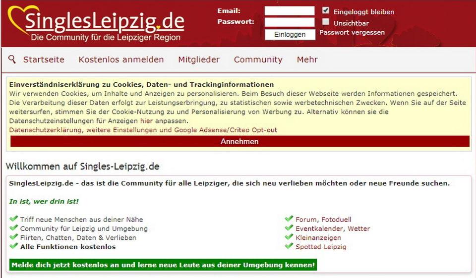 Singles Leipzig im Test 2021: Kosten, Users Erfahrungen