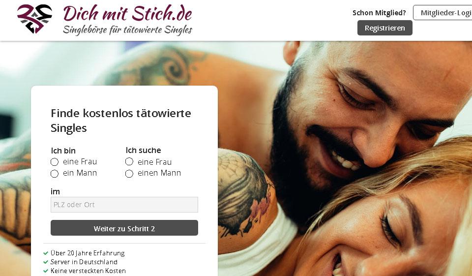 Tattoo Singles im Test 2021: Kosten, Users Erfahrungen