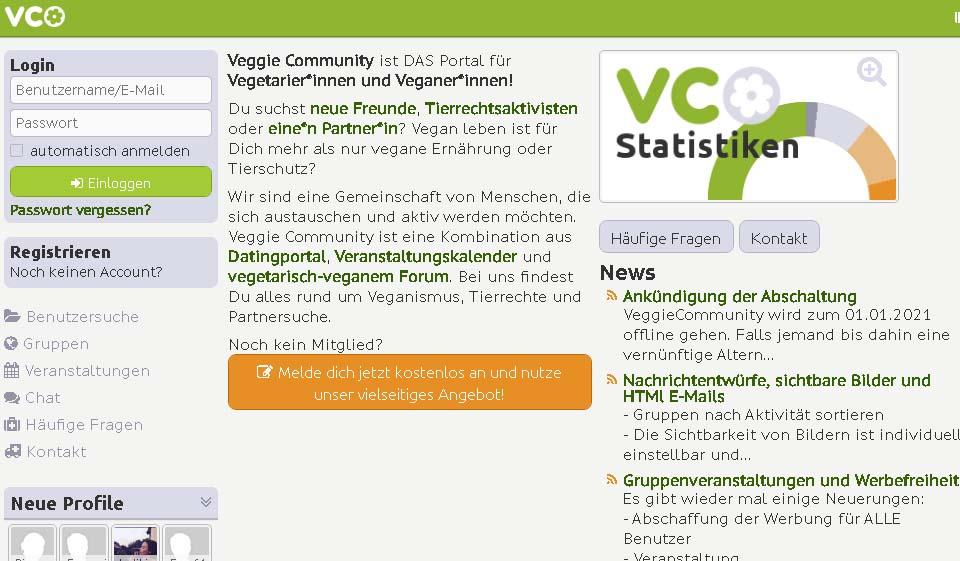 VeggieСommunity im Test 2021: Kosten, Users Erfahrungen